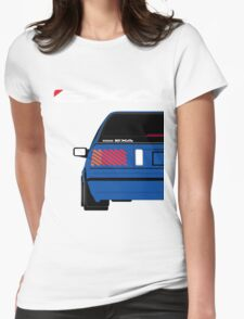 Nissan Exa Sportback - JAP Edition Blue Womens Fitted T-Shirt