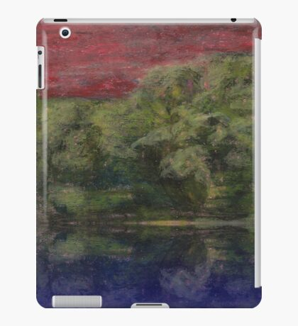 Red Landscape iPad Case/Skin