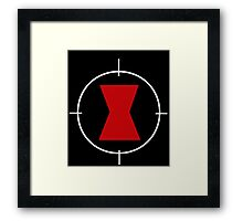Black Widow sighted! Framed Print