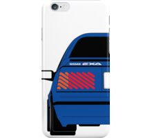 Nissan Exa Coupe - JAP Edition Blue iPhone Case/Skin