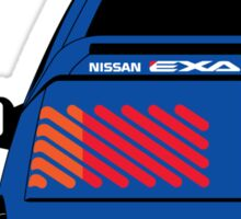 Nissan Exa Coupe - JAP Edition Blue Sticker