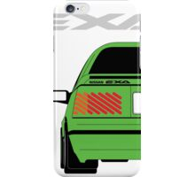 Nissan Exa Coupe - Green iPhone Case/Skin