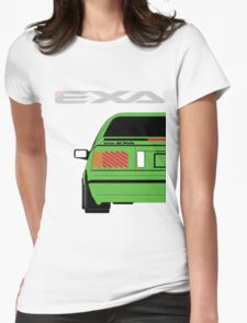 Nissan Exa Coupe - Green Womens Fitted T-Shirt