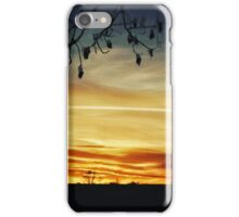 Sunsets and Branches  iPhone Case/Skin