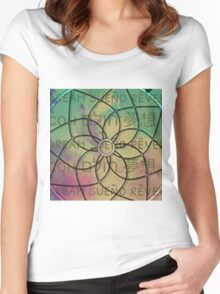 Dreaming of Languages Women's Fitted Scoop T-Shirt