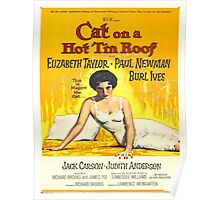Vintage poster - Cat on a Hot Tin Roof Poster