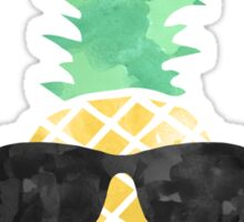Sunglasses Pineapple Sticker