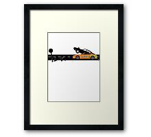 The Fast and the Furious Classic Moment Framed Print
