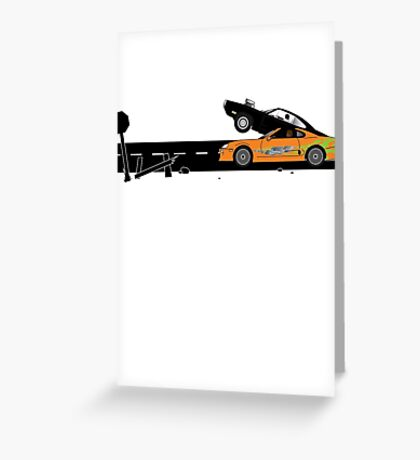 The Fast and the Furious Classic Moment Greeting Card