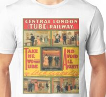 Vintage poster - Central London Railway Unisex T-Shirt