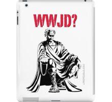WWJD? iPad Case/Skin