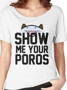Show Me Your Poros Women's Relaxed Fit T-Shirt