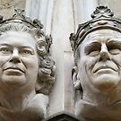 Queen Elizabeth & Prince Philip by Ludwig Wagner