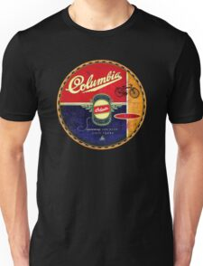 Columbia Vintage Bicycles Unisex T-Shirt