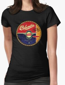 Columbia Vintage Bicycles Womens Fitted T-Shirt