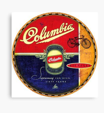 Columbia Vintage Bicycles Canvas Print