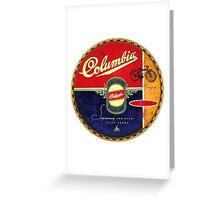 Columbia Vintage Bicycles Greeting Card