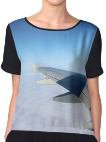 Above the sky. Chiffon Top