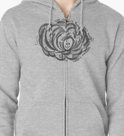 Nothing quite like a cloudy day. Zipped Hoodie