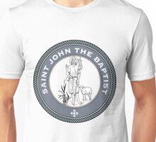 ST JOHN THE BAPTIST MEDALLION Unisex T-Shirt