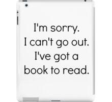 books for people iPad Case/Skin