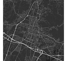 Brescia, Italy Map. (White on black) Photographic Print