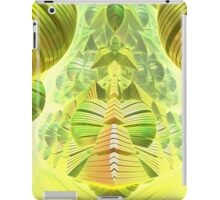 Neon Green Ocean Liner  iPad Case/Skin