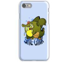 SPACE GATOR iPhone Case/Skin