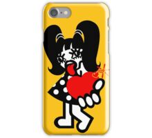 Trouble Girl iPhone Case/Skin