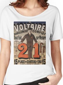 Vintage poster - A Voltaire Women's Relaxed Fit T-Shirt