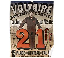 Vintage poster - A Voltaire Poster