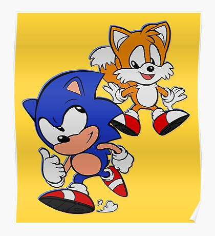 SONIC AND TAILS Poster