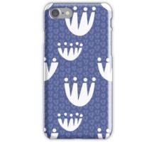 Tulip Triangle (Purple) iPhone Case/Skin