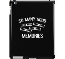 So Many Good Memories iPad Case/Skin