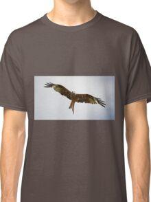 Red Kite in flight Classic T-Shirt