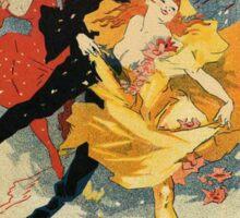 Vintage poster - Redoute des Etudiants Sticker