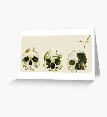 From Death Comes Life Greeting Card