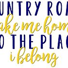 Country Roads by Caro Owens  Designs