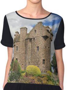 Claypotts Castle Chiffon Top