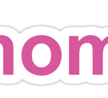 Mom Of Two Sticker