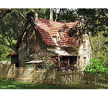 The Olde Gardener's Cottage Photographic Print