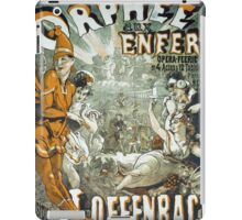 Vintage poster - Orphee aux Enfers iPad Case/Skin
