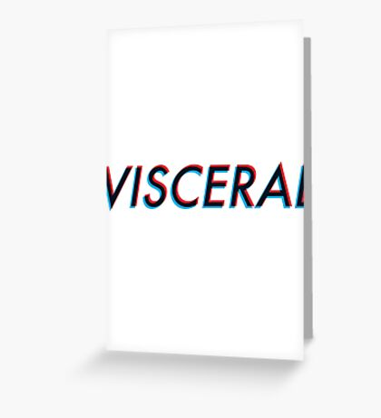 Modern Electronic - Visceral Greeting Card