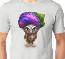 OWLET WITH TURBAN Unisex T-Shirt