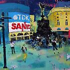 Piccadilly Circus by Ollie Lett
