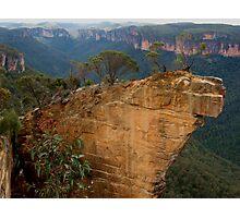 Hanging Rock, Blackheath Photographic Print