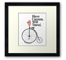 Have Camera Will Travel Alt Version T-shirts & Gifts Framed Print