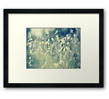 PANTONE BLUE Framed Print
