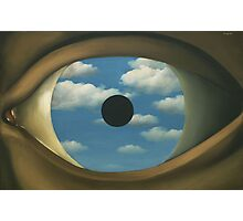 The False Mirror - Magritte Photographic Print