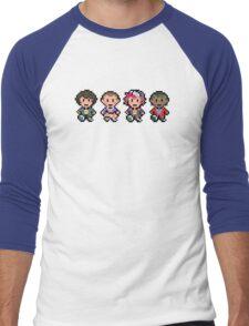 STRANGER THINGS PIXEL Men's Baseball ¾ T-Shirt